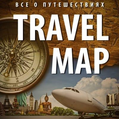 Travel map on Viber
